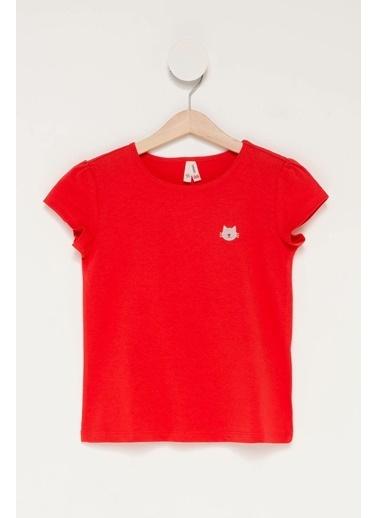 DeFacto Kız Çocuk Body Kırmızı